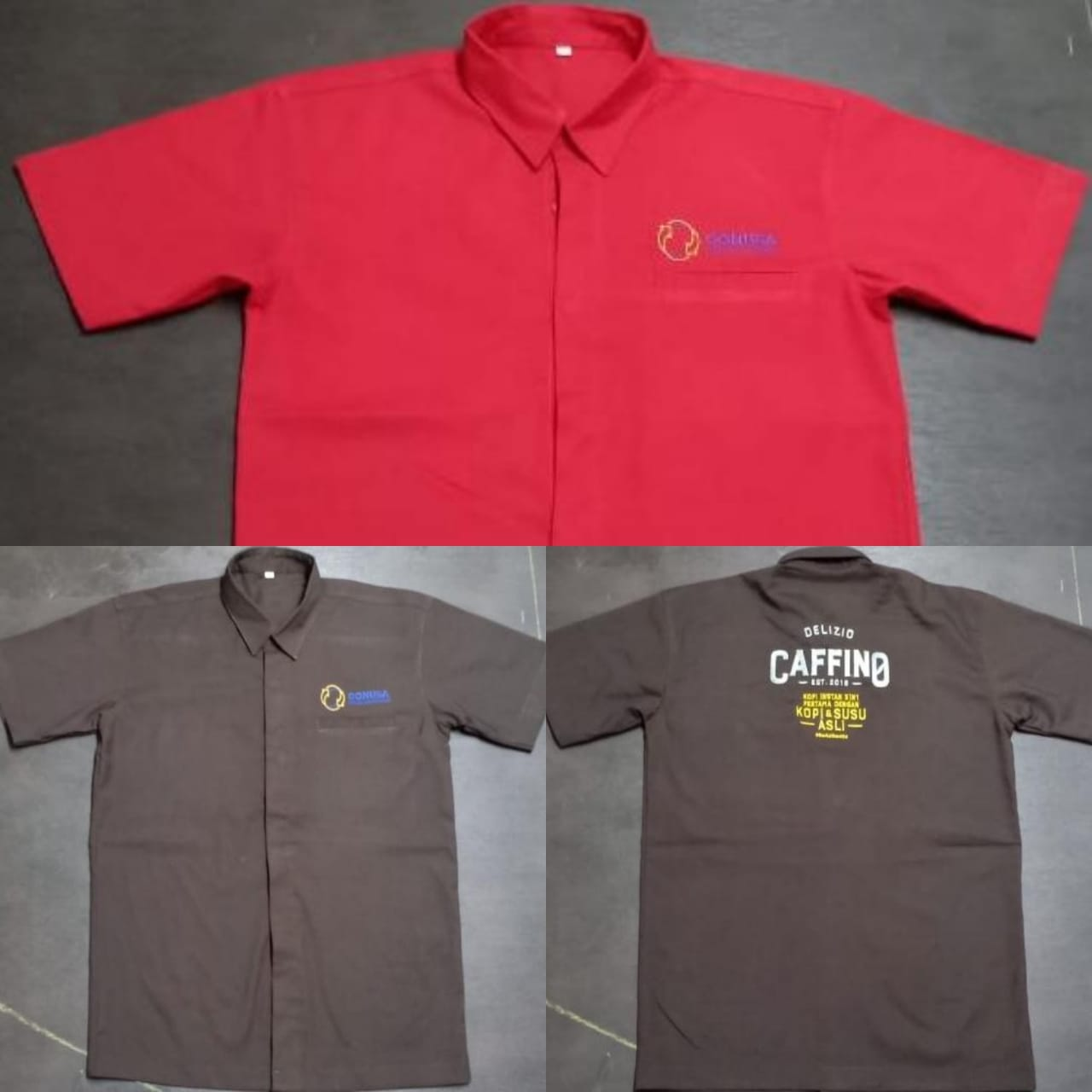 Bikin Seragam Perusahaan Bordir Logo