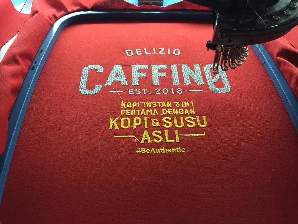 Jasa Bordir Poloshirt Perusahaan