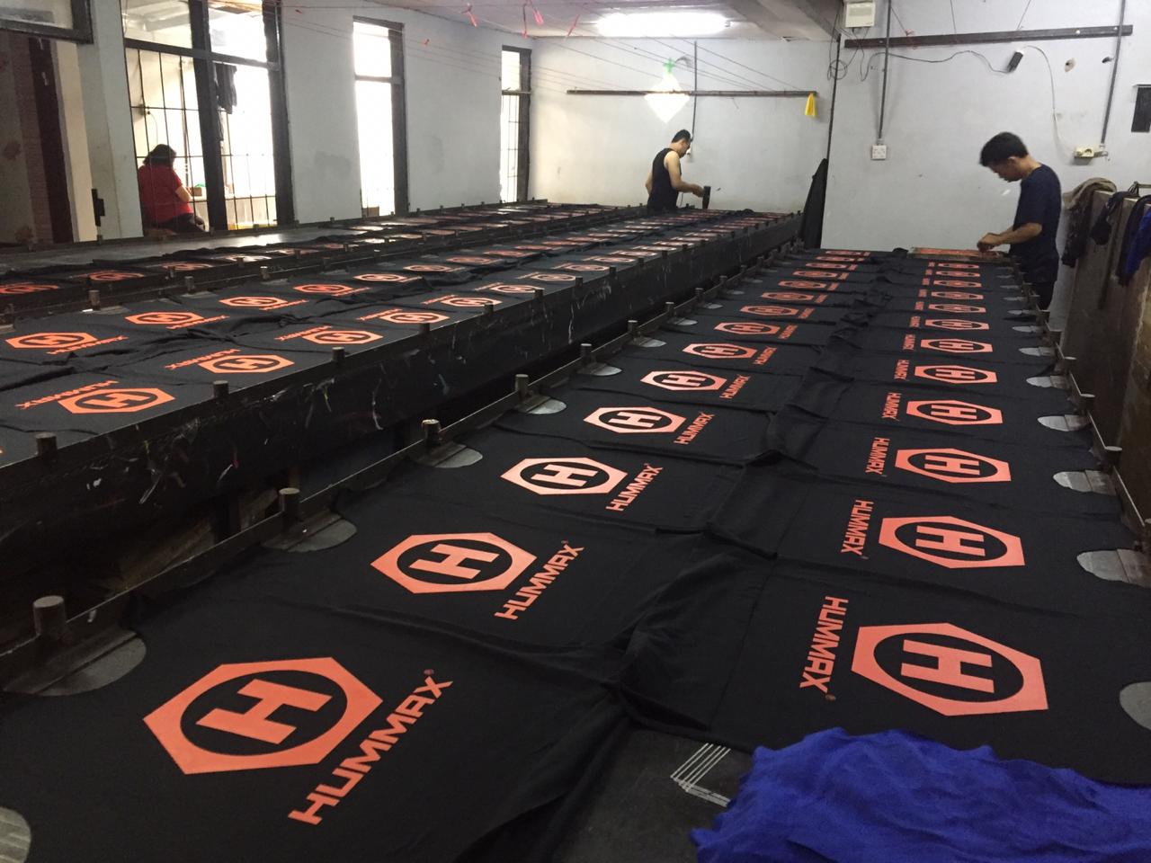 Jasa Produksi Pakain Vendor Kaos Sablon